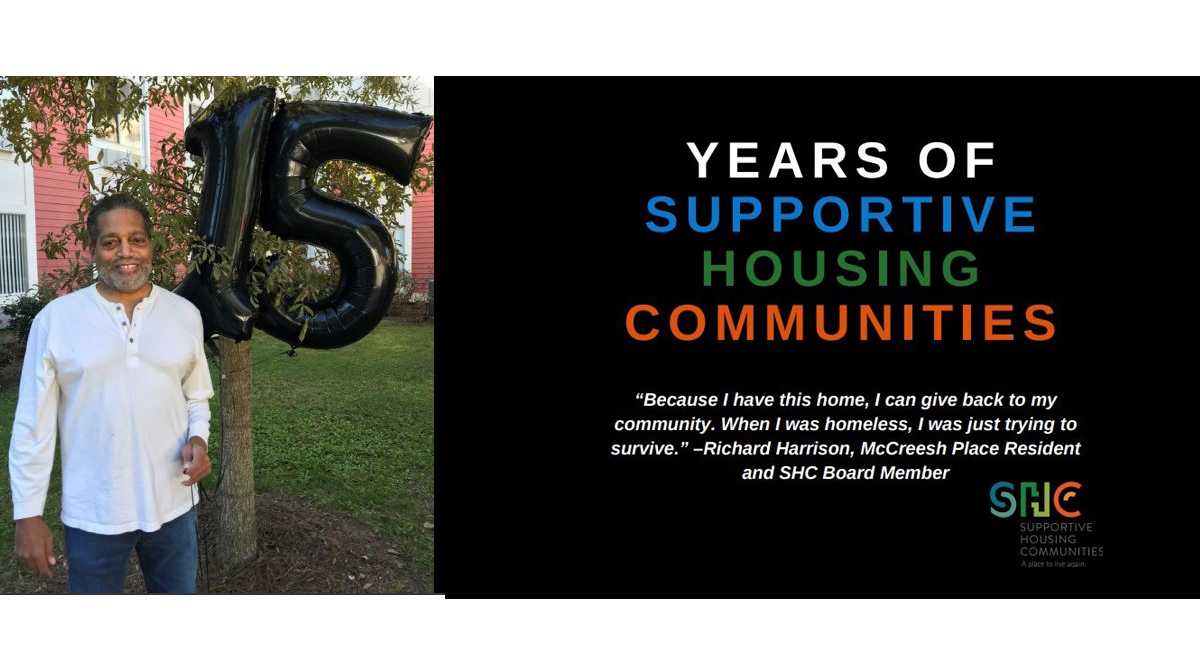 15 years of Supportive Housing Communities