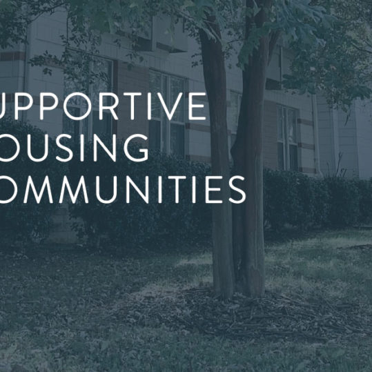 February Email Header Supportive Housing Communities